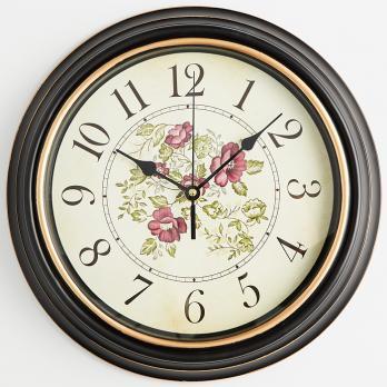 Часы настенные DT9-0003 строгие розы, круглые часы